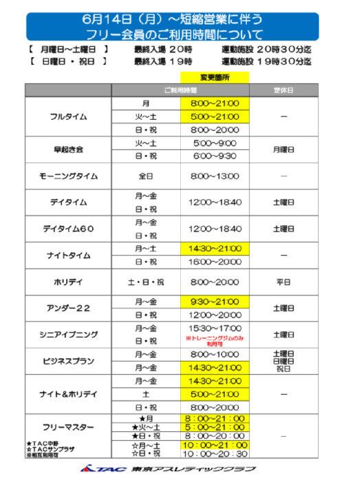 2021.6.14~フリー会員利用変更~POPのサムネイル